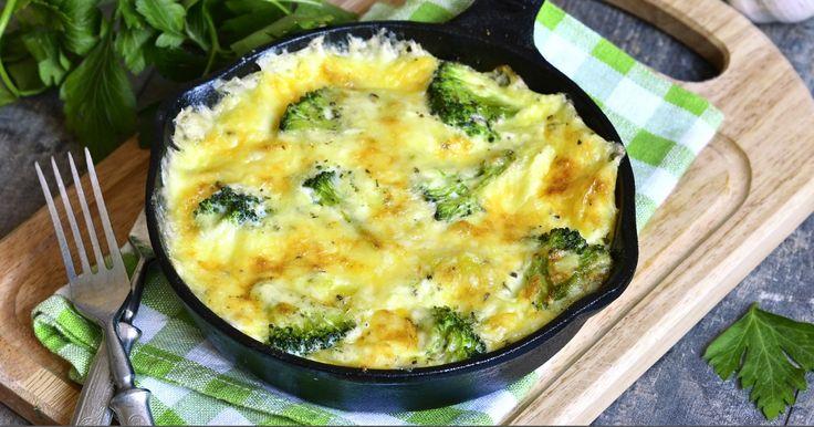 Une frittata de pommes de terre, d'épinard et de brocoli - Recettes - Recettes simples et géniales! - Ma Fourchette - Délicieuses recettes de cuisine, astuces culinaires et plus encore!