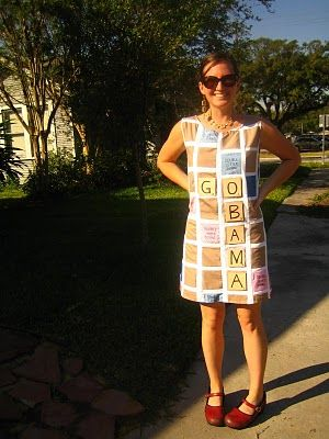 Scrabble costume really awesome costumes pinterest for Diy scrabble costume