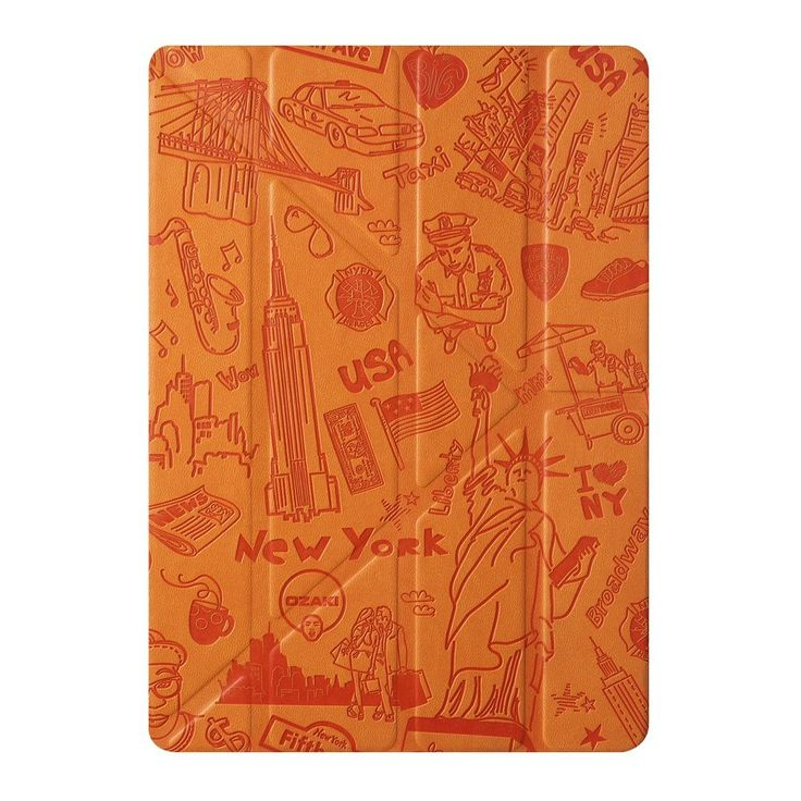 Amazon.com: iPad Air 2 Case - OZAKI O!coat Travel Versatile New Generation 360° Multi-Angle Smart Case For Apple iPad Air 2. Y-TECH for Steady Portrait & Landscape View / Slim & Stylish / Auto On & Off - New York: Cell Phones & Accessories