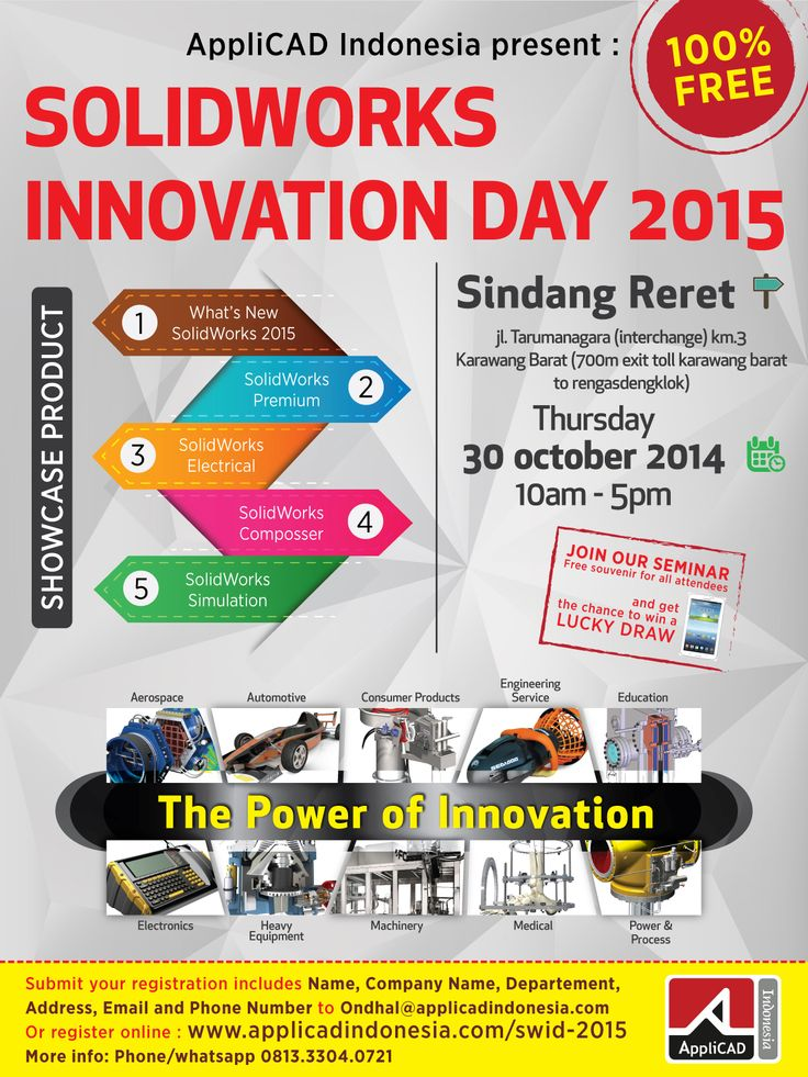 Solidworks Innovation Day 2015 : The Power Of Innovation