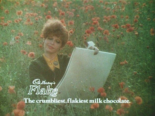 advert for Cadbury's  flake