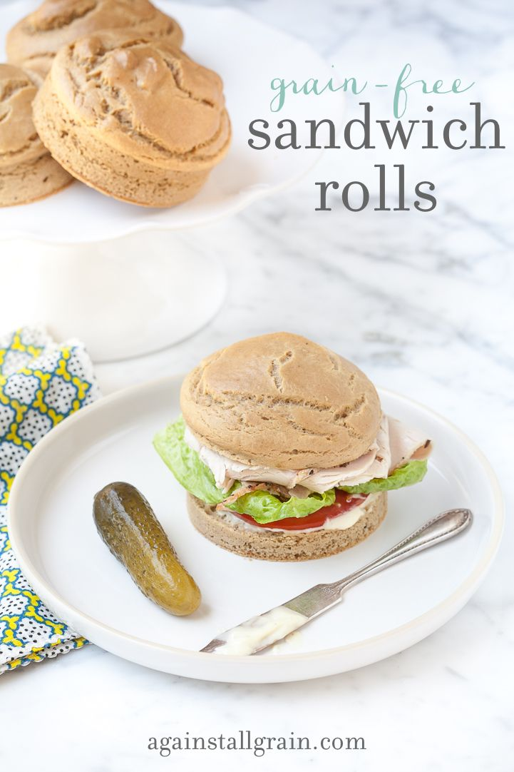 Grain-Free Sandwich Rolls - Danielle Walker's Against All Grain