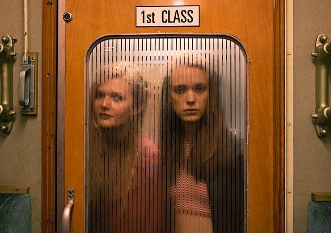 Viajo en tren en 1ª clase para evitar sorpresas... ¿quién hay en la puerta? ¡NO pueden pasar! no... no... (…Nymphomaniac Lars Von Trier)