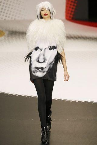 Warhol dress by Jean Charles de Castelbajac