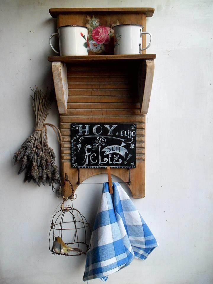 M s de 25 ideas incre bles sobre tablas de lavar antiguas - Cosas antiguas para decorar ...