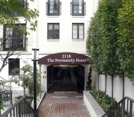 Washington, DC:  Normandy Hotel - The Washington Post