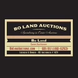 View information about this sale in Lauderdale, MS.  The sale starts Saturday, May 27.  It is being run by Bo Land Auctions