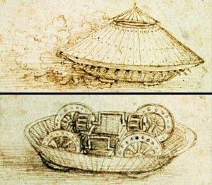 Image result for leonardo da vinci tank public domain images