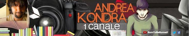 Canale sul cinema: dalla cover traspare tutta la personalità dell'autore. http://www.youtube.com/user/andreakondramorano @AndreaKondra