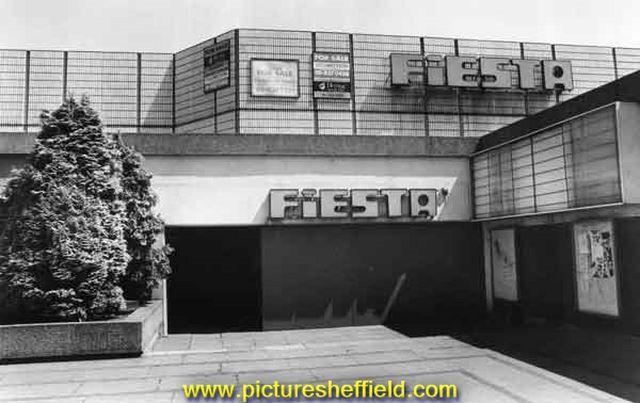 Fiesta Club (latterly the Odeon Cinema), between Arundel Gate and Pond Street