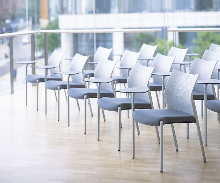 Zenith Interiors: Trillipse Stacking Chair