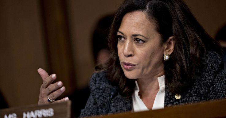 Kamala Harris Once Again Interrupted By Male Colleagues During Senate Hearing | HuffPost