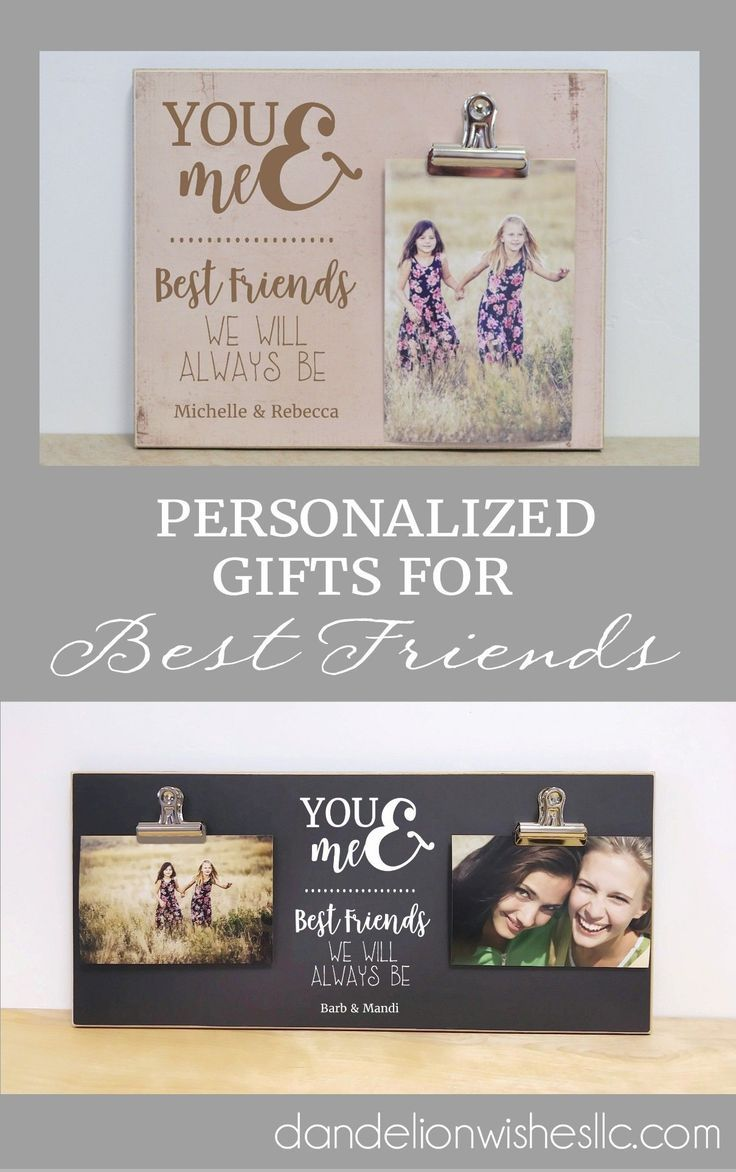 b6531cdcf5 You and Me. Best Friends We Will Always Be. This picture frame makes ...