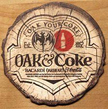 1 Bierdeckel COCA COLA - BACARDI aus Irland / irisch