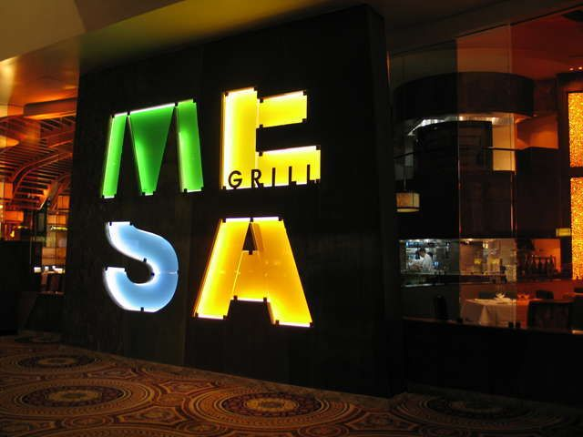 Best place to eat in Vegas!  Bobby Flay's Mesa Grill, Las Vegas  The boys love it.