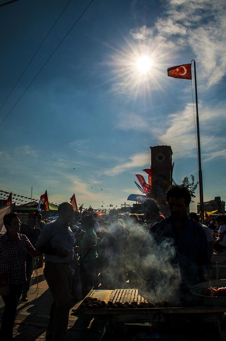Taksim İstanbul Gezi Park Demonstrations