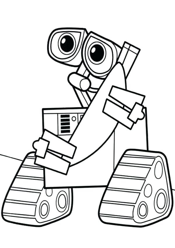 Wall E Coloring Pages Coloring Pages Coloring Pages For Kids