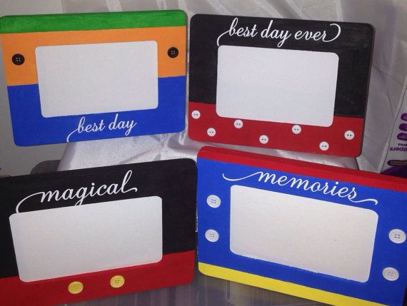 Disney Frames- Mickey, Minnie, Donald, Goofy. Perfect for Fish Extender Gifts. Disney Cruise Line. DCL. Walt Disney World.