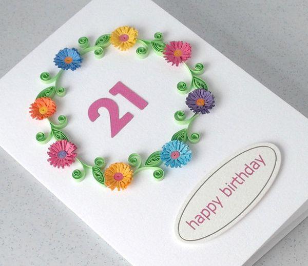 Открытка на день рождения 10 лет своими руками