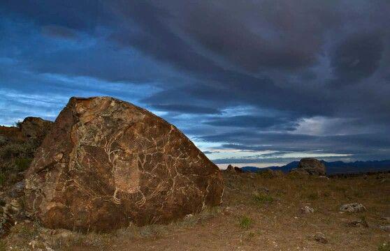 Crazy woman rock, Wyoming