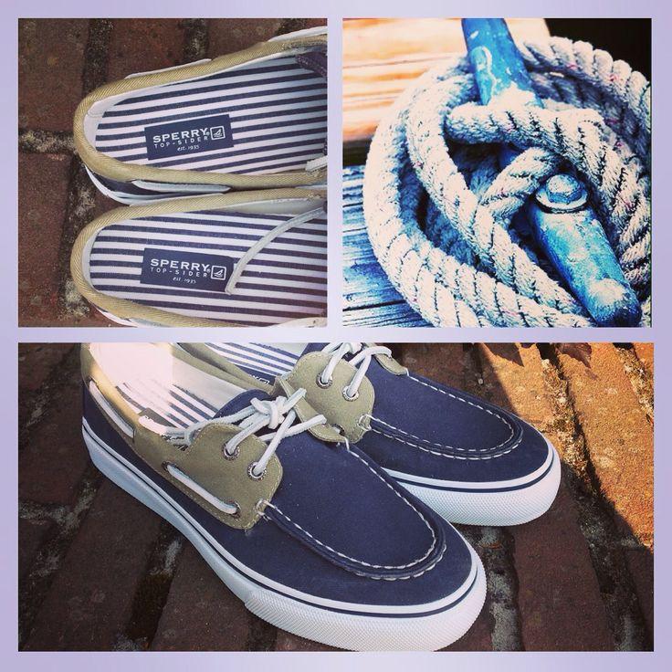 Sperry's met toffe blauw-witte streepvoering!⛵️