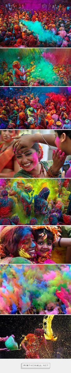 Holi, India Also known as the festival of colors and love, this vivid spring festival brings all people together. The social barriers break completely, friend or stranger, rich or poor, men or women, children or elders, Hindu or not, all people come together to celebrate the end of the winter season. And most important to celebrate that everyone is the same!