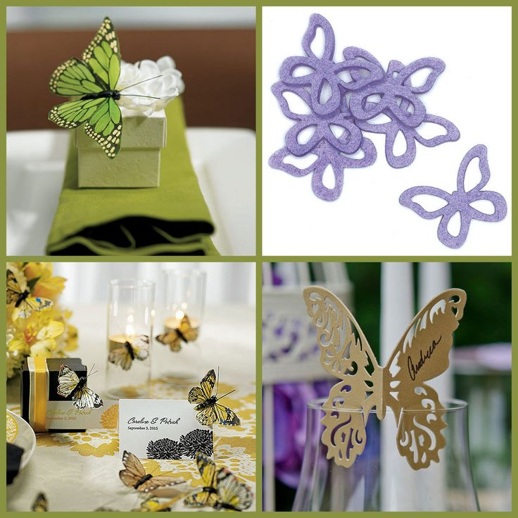 Butterfly Wedding Decoration from HotRef.com