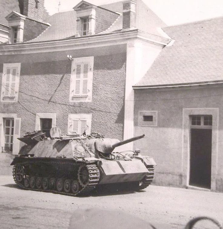 "supermarketsecurity:  Jagdpanzer IV L/48 ""212"", SS-Pz.Jg.Abt. 17, Vaiges, France."