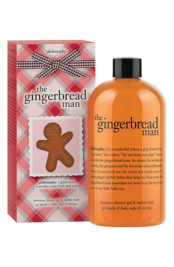 philosophy 'the gingerbread man' shampoo, shower gel & bubble bath available at #Nordstrom