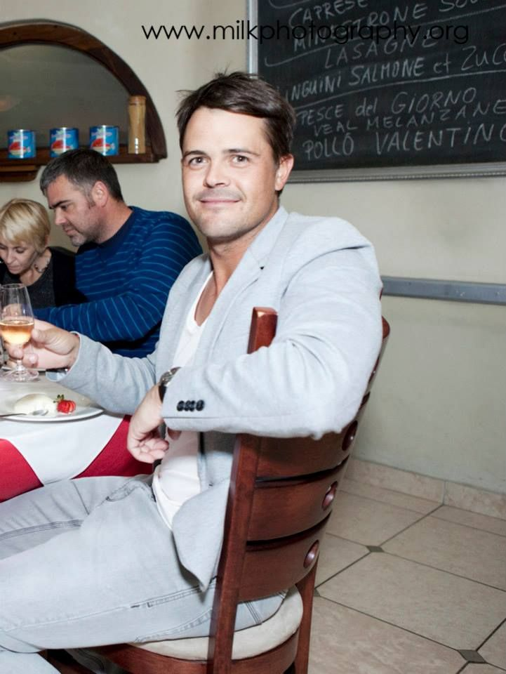 Jacques Rudolph at Pretoria.co.za wine tasting - Al Dente Restaurant.