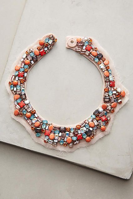 Alice Clustered Collar Necklace