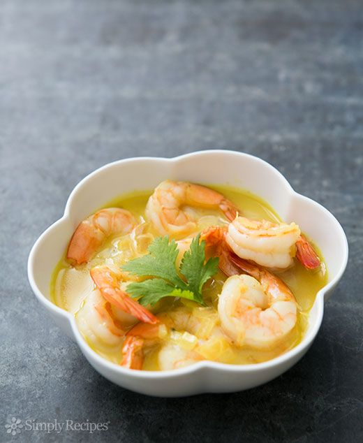 Easy Coconut Shrimp Curry