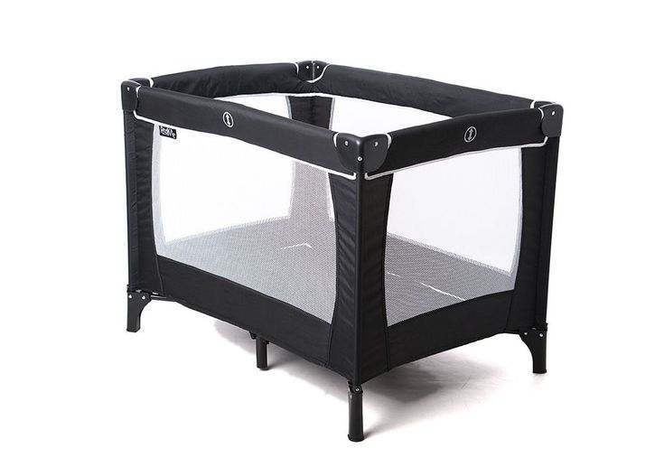 Baby Travel Cot Portable Playpen Infant Child Mattress Sleep Fold FREE CARRY BAG #na