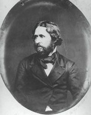 """When Mexico refused to sell California to the U.S., the U.S. sent John C. Fremont to California to """"survey the land.""""  While in California in 1846, Fremont planted the U.S. flag in defiance of Mexico and engaged in military action.  He became rich in the gold rush and later became a Senator from California."""