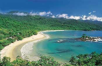castelhanos beach, ilhabela, são paulo.