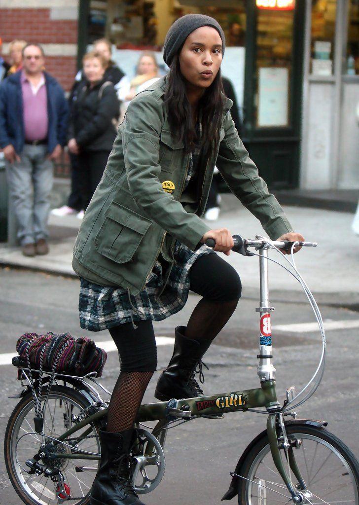 Joy Bryant - Joy Bryant Out Riding Her Bike blackwomeninboots.blogspot.com
