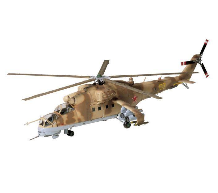 Tamiya 60705 Mil MI 24 Hind Gunship Attack Helicopter 1 72 Scale Model Kit | eBay