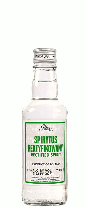 SPIRYTUS REKTYFIKOWANY RECTIFIED SPIRIT 96% ( I wish I had more... Someone should bring me some back from Japan...)