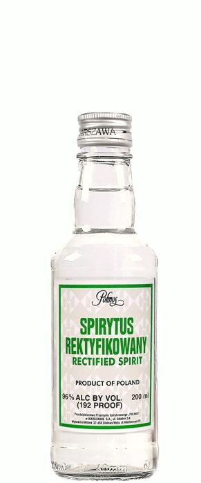 SPIRYTUS REKTYFIKOWANY RECTIFIED SPIRIT 96% ( I wish I had more... Someone should bring me some back from Japan...)