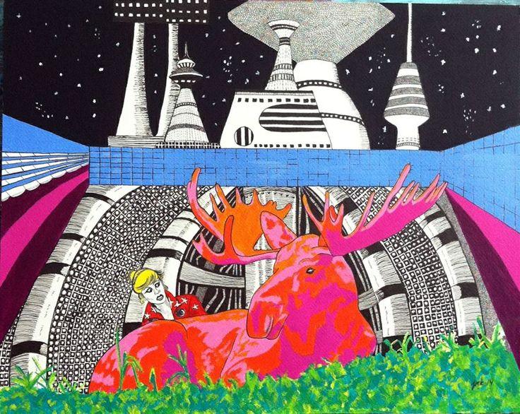 Artist Jeanette Marie Kjeldsen.