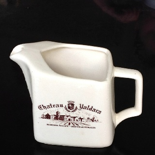 Exciting find at Red Cross shop! Cost me $5! Yahoo. Chateau Yaldara, Elischer Australia.