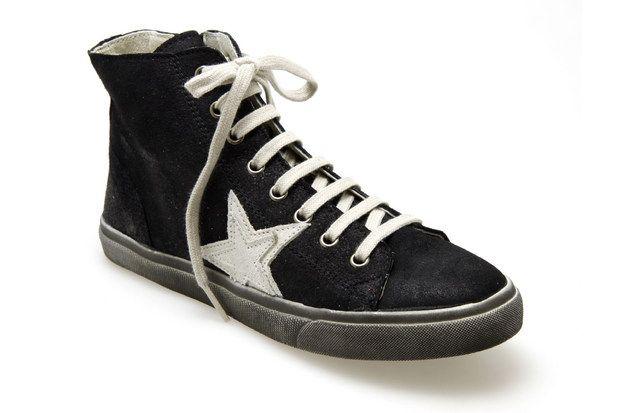 Baskets REQINS GREEN/VEGA Noir - Chaussures femme