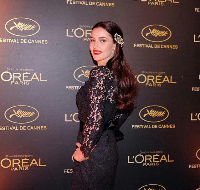 Fahriye Evcen Loreal Paris Cannes Istanbul Celebration #lorealparis #cannes2015