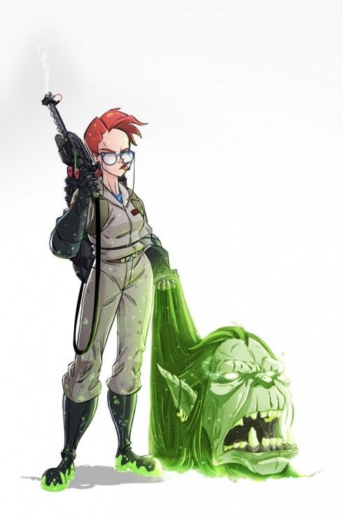 New shot of Janine from IDW's Ghostbusters | GhostbustersNews.com – Ghostbusters news, media, and fan creations!