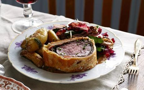 The Ultimate Beef Wellington Recipe by Tyler Florence : Food Network UK