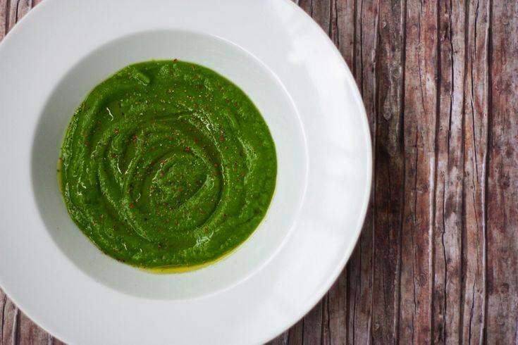 brokolicova polievka - chutilo aj bez olivového oleja a namiesto vody som dala vývar