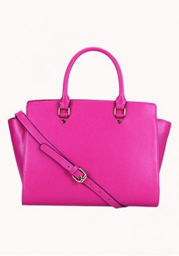 Melanie Tote in Pink http://www.contempobags.com/melanie-tote/