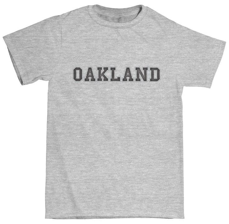Oakland Football Club Toddler Cotton Crew Neck T-Shirt