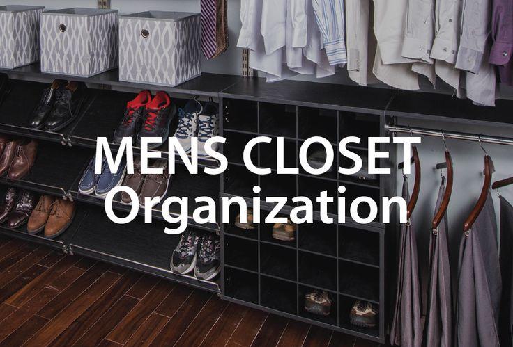 18 best images about men 39 s closet organization on. Black Bedroom Furniture Sets. Home Design Ideas
