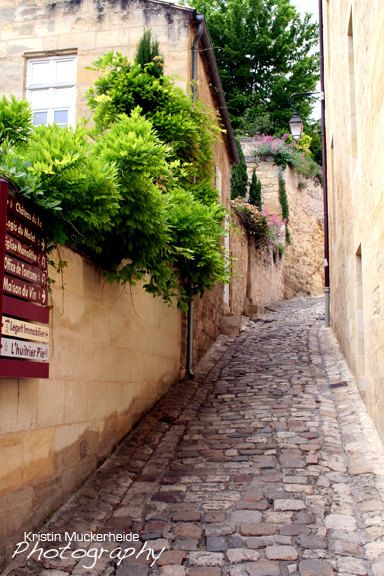 French wine country. St. Emilion, France.